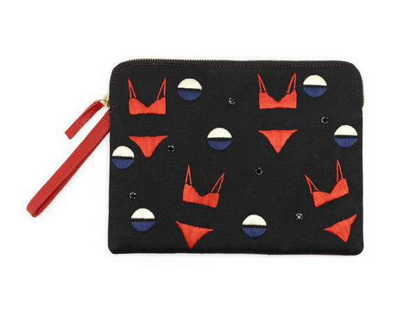 Lizzie Fortunato - SAFARI CLUTCH