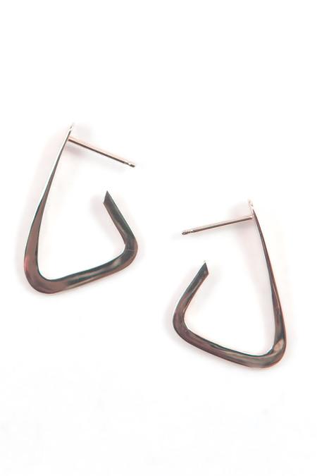 Emily Triplett Tryst earrings in rose gold