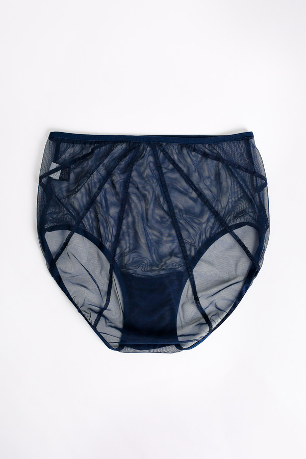 Only Hearts Whisper cage back brief in midnight