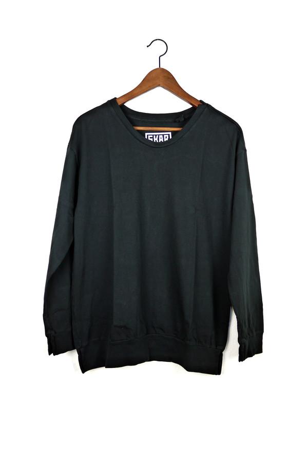 Skargorn #88 Sweatshirt Tee, Black Wash
