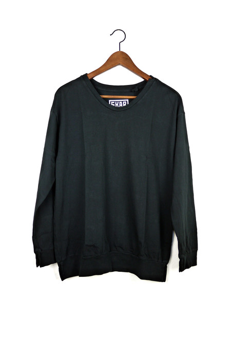 Skargorn #88 Sweatshirt Tee, Black Wash