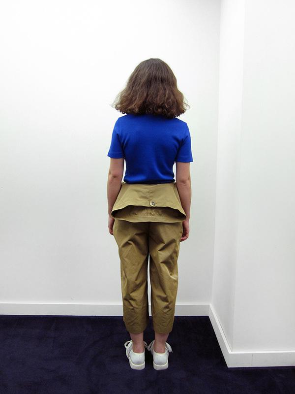 Nancy Stella Soto Poly Gabardine Trousers