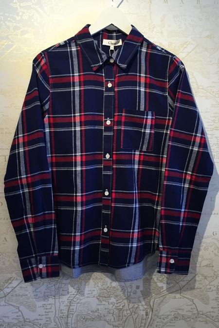 Clu Plaid & Striped shirt