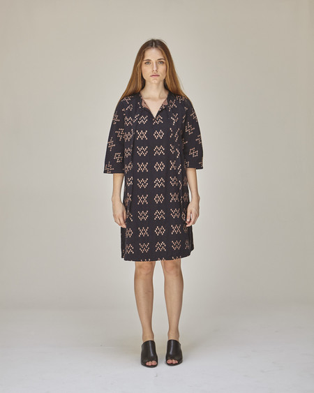 Ace & Jig Beatrice Dress in Black Sampler