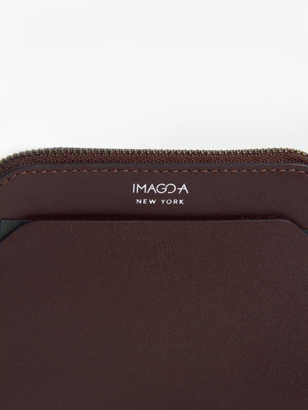IMAGO-A Forma Wallet Burgundy