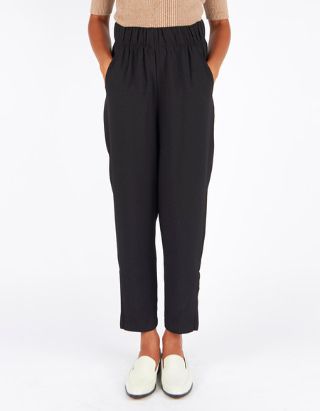 Ganni Clark Pants Black