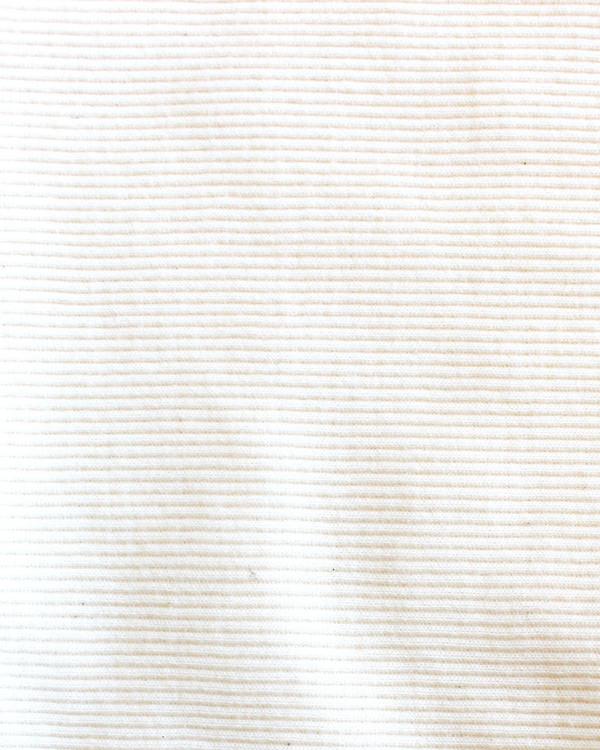 esby ALI RIB TURTLENECK - IVORY