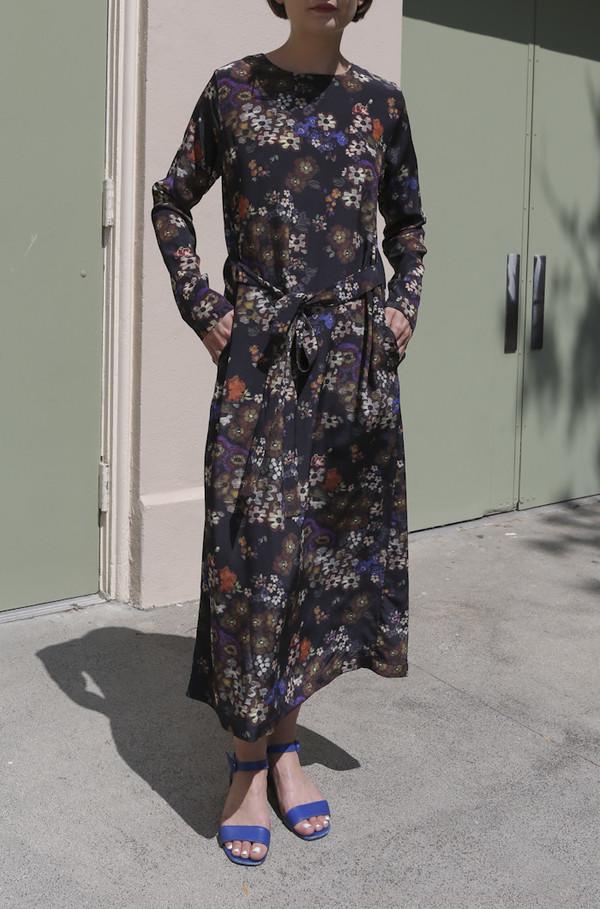 No.6 Simone Dress in Folk Floral Print