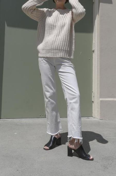Rachel Comey Slim Legion Pant in Dirty White
