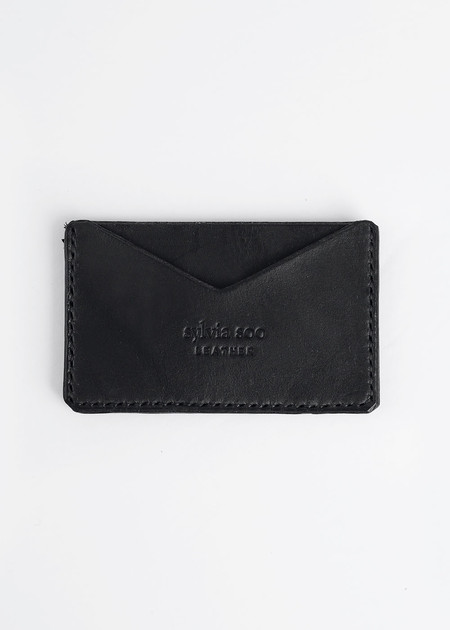 Sylvia Soo Leather No Fold Wallet