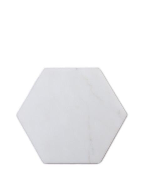 Fort Standard Stone Hexagon White