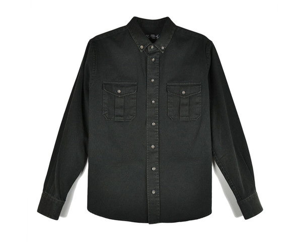 KINGS COUNTY TWILL - WASHOUT OVERSHIRT