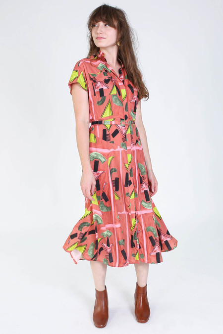 Rachel Comey Marlow dress in clay print