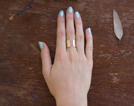 Isla Loves Rick French Cuff Ring