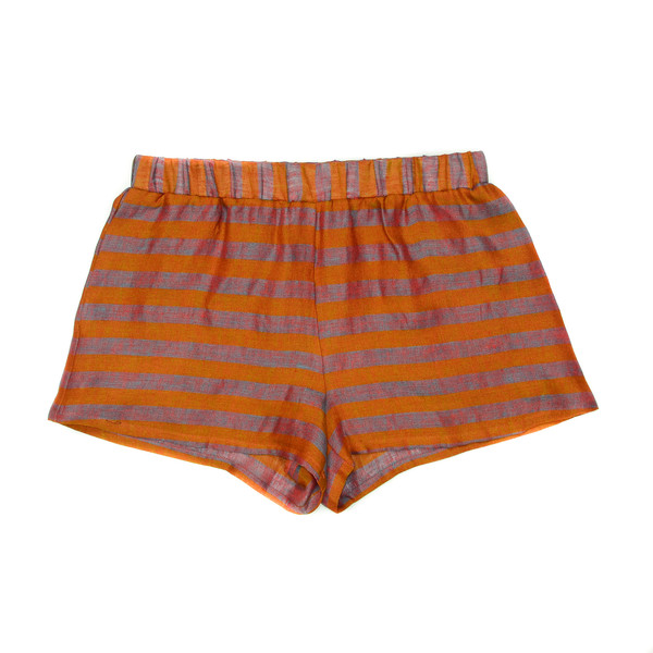 LOUP - KELLY SHORTS - COPPER /STRIPE