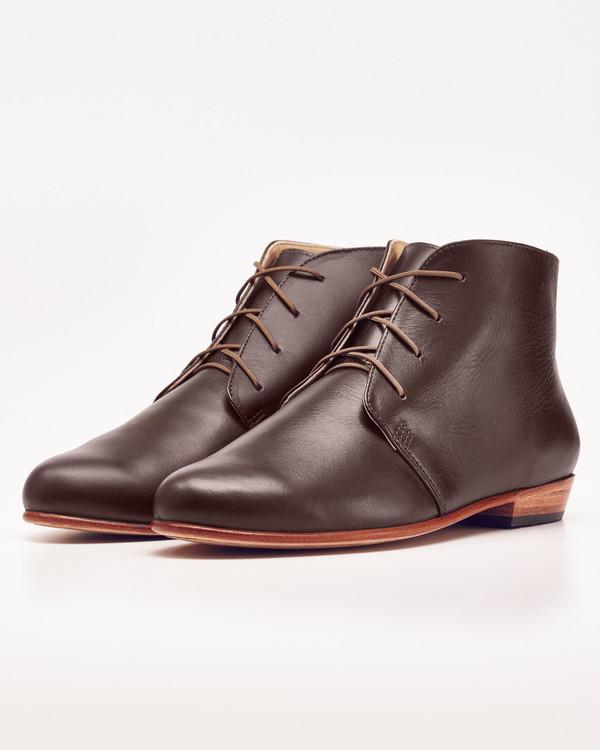 Nisolo Harper Chukka Boot Noir