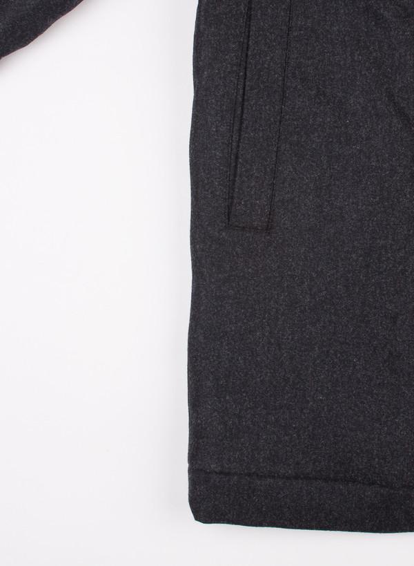 Men's Norse Projects Birk Wool Charcoal Melange