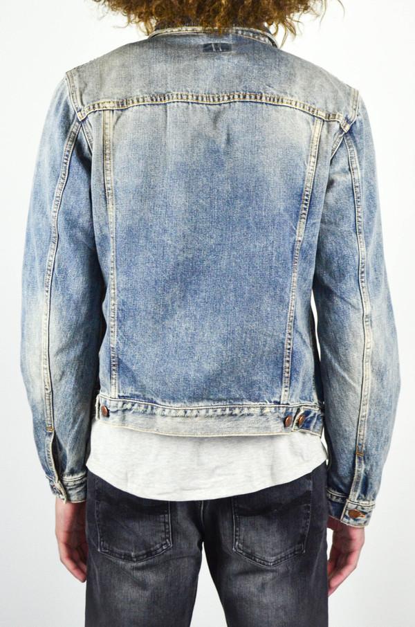 Men's Nudie Billy Shimmering Indigo Denim Jacket