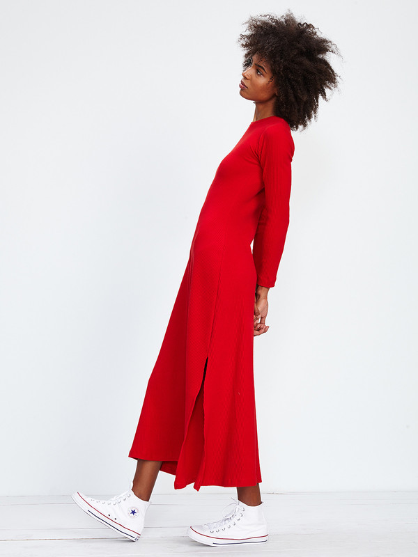 DELFINA BALDA NOVA RIB DRESS