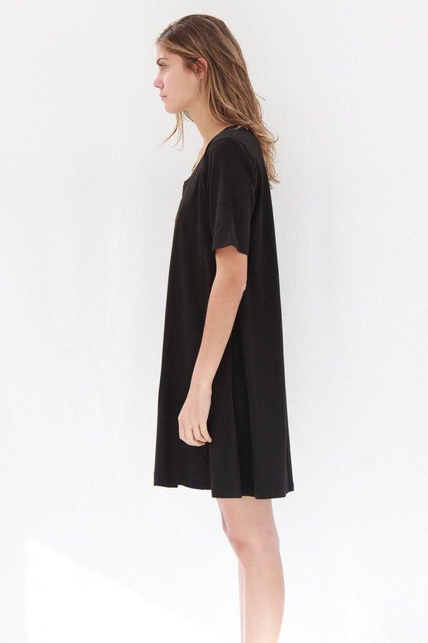 Kowtow Swing Dress Black
