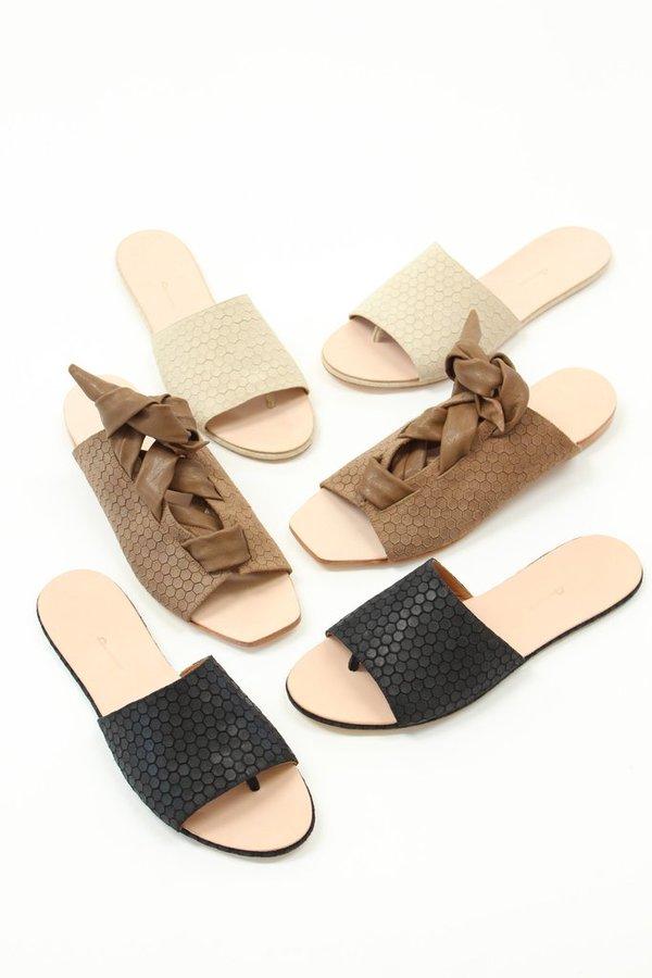 Palatines Texo Lace-up Sandal Bark Hex