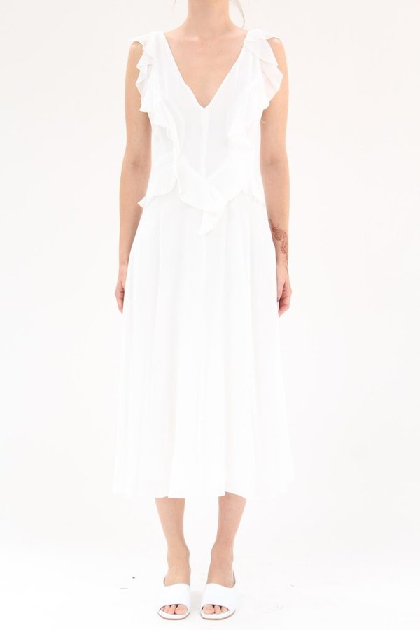 Rachel Comey Ruby Dress White