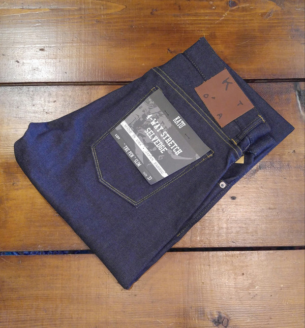 Men's KATO' - 4-Way Stretch Selvedge