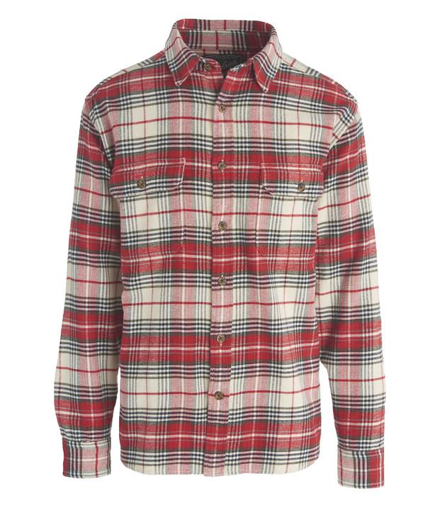 Men's Woolrich - Oxbow Bend Flannel - Wool Cream