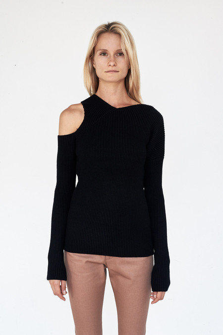 Nomia Viscose Asymmetrical Sweater