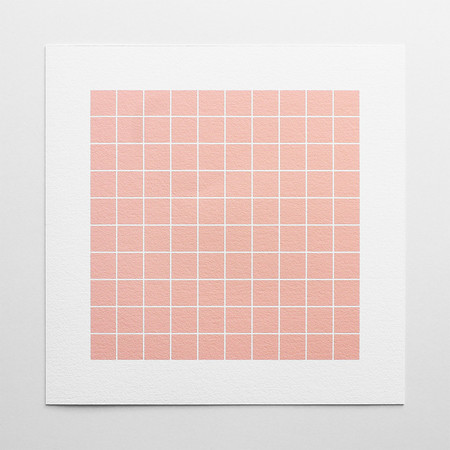 Barclay Haro Art Concepts Blush Grid