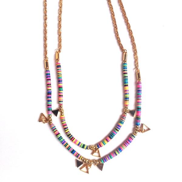 Marijke Bouchier 'Double Strand Confetti' necklace
