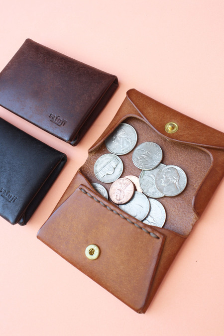 Safuji - Leather Coin Case