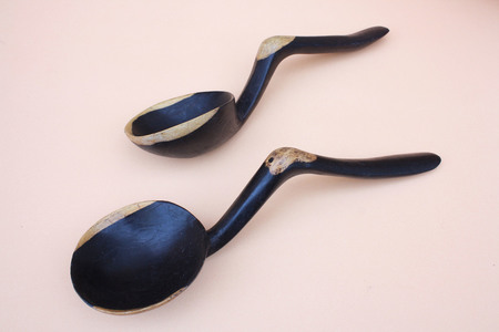 Cameron Marks Boutique Ebony Serving Spoon