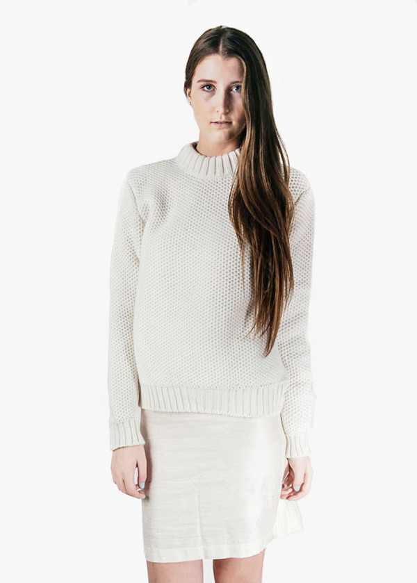 Suzanne Rae - Honeycomb Fitted Sweater