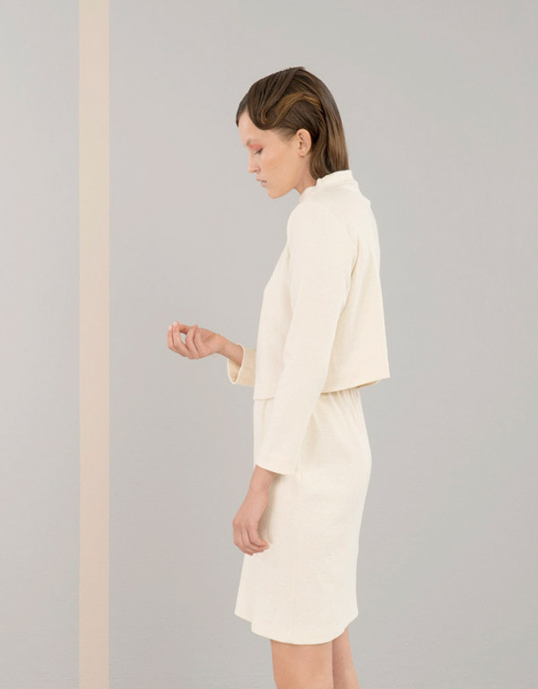 Elise Ballegeer Ribbed Skirt