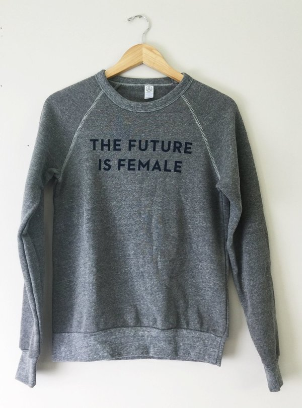 Otherwild The Future is Female Sweatshirt Grey