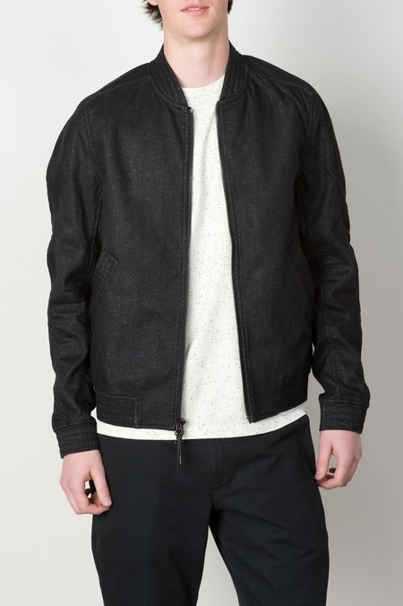 Men's Vented Linen Bomber