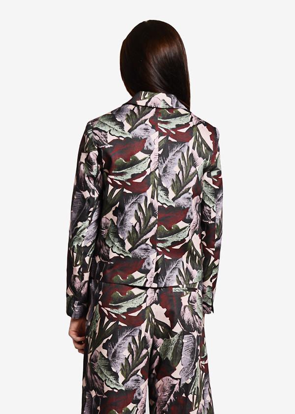 Svilu - Palm Print Blazer