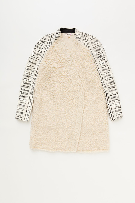 Lemlem Kal Coat in Oatmeal