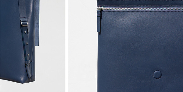 Building Block Rucksack in Navy