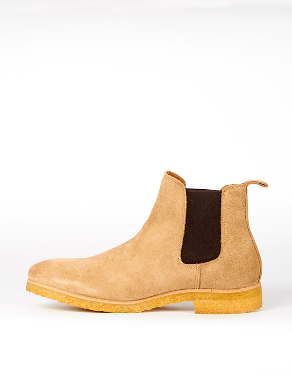 Shoe The Bear Gore Chelsea Boot Sand