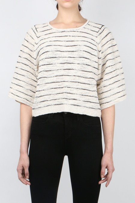 Sita Murt Cropped Stripe Sweater