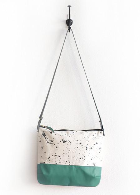 Anna Joyce - Splatter Crossbody Bag (Teal)
