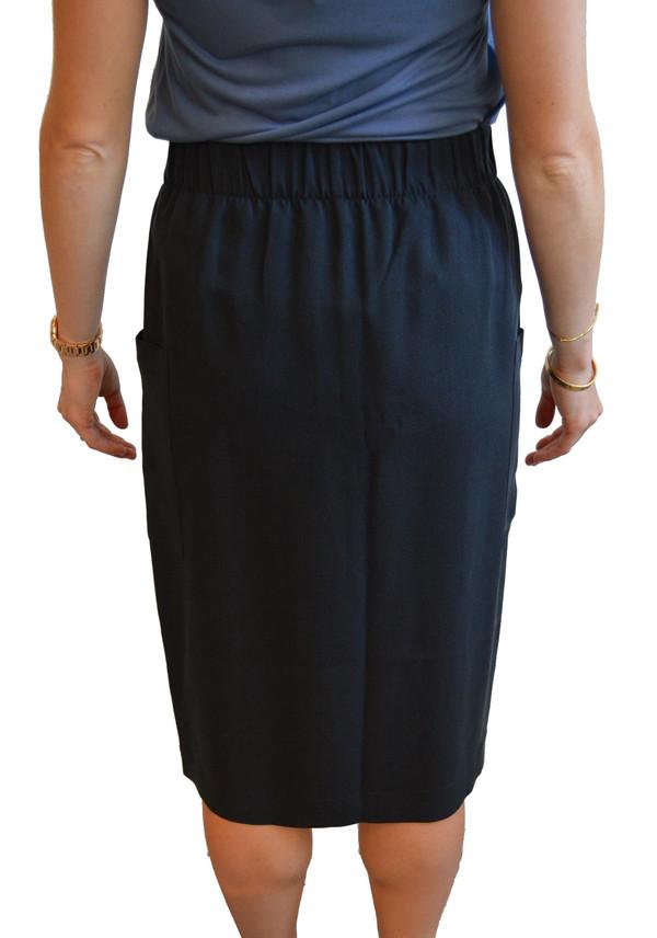 Babe - Slit Skirt (Black)