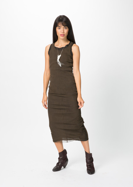 Rundholz Dip Double Layer Mesh Dress