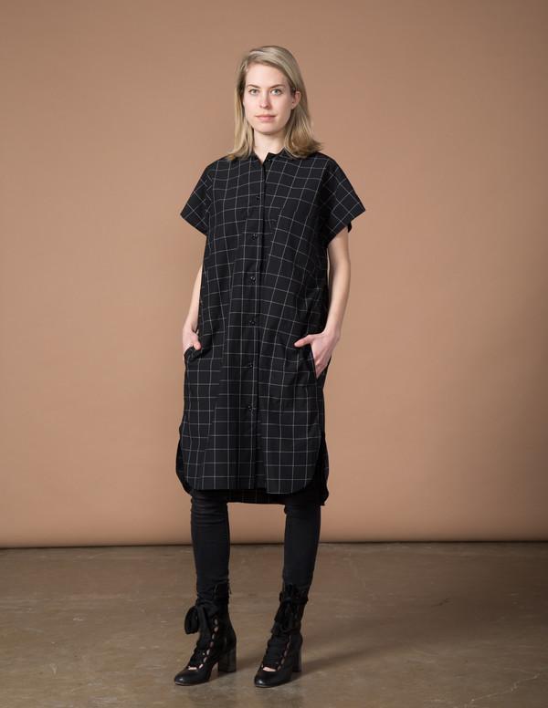 SBJ Austin R Dress - Dark Denim