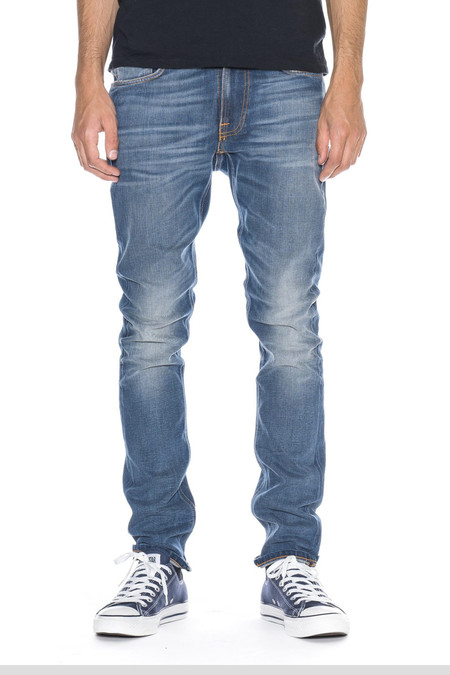 Men's Nudie Jeans Lean Dean | Indigo Throb