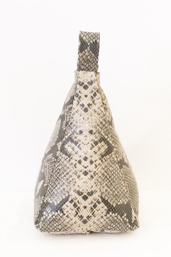 7 Collective Designer Door Stop - Grey Snake