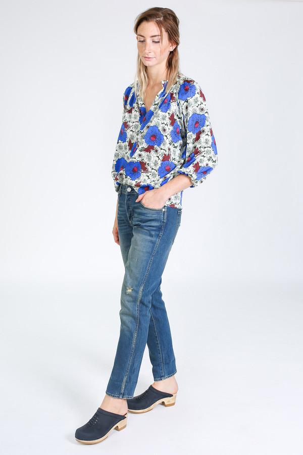 Tracy Reese Classic Blouse in Velvet night