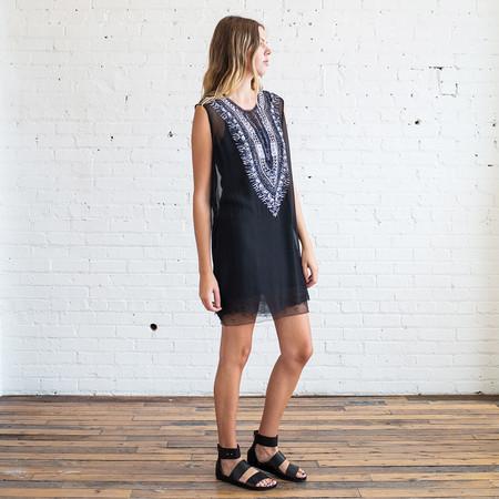 Raquel Allegra Silk Chiffon Mini Dress